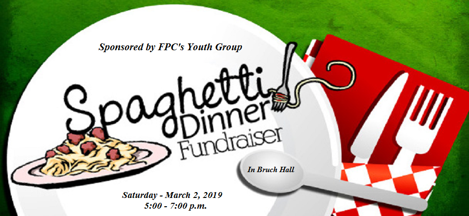 Youth Group - Italian Dinner Fundraiser
